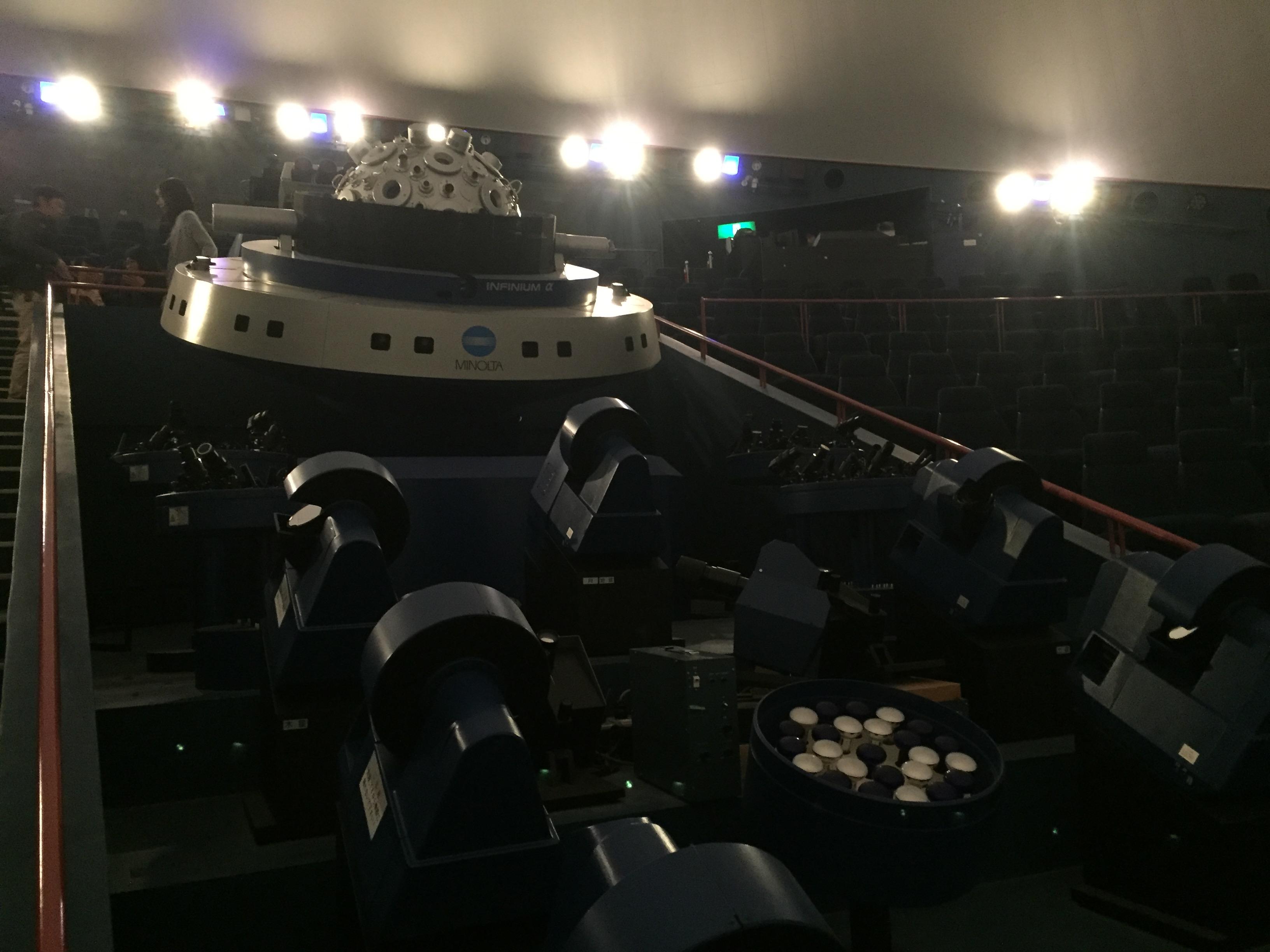 プラネタリュウム投影機