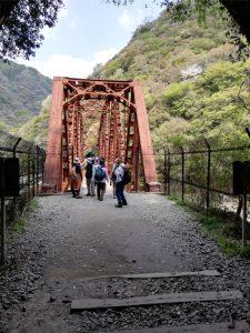 武田尾ハイキングの鉄橋