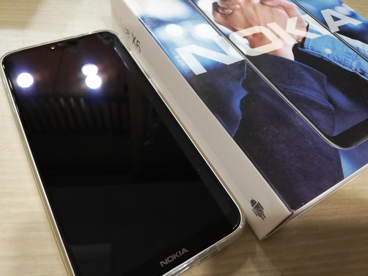 Nokia x6.1