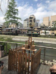 宮川堤の御用水