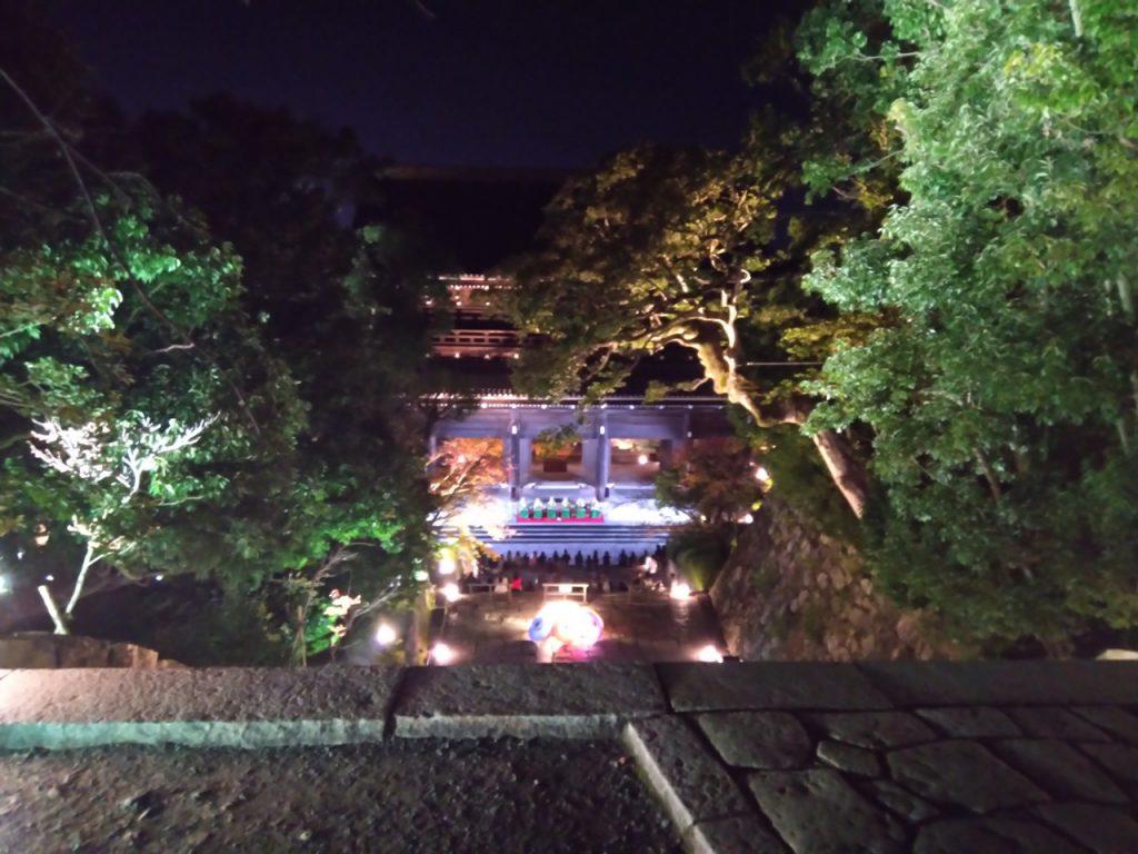 知恩院秋のライトアップ
