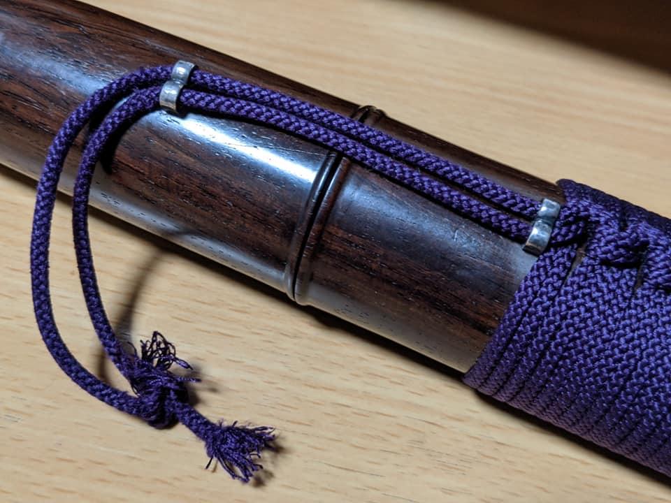 菅筒の組紐
